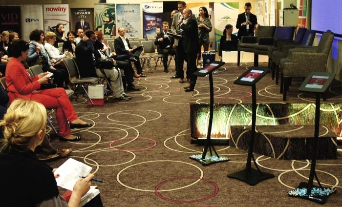 Infokioski, kioski multimedialne Mobi-Stand podczas Kongresu Profesjonalistów PR