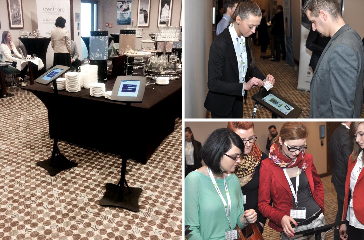 Kioski multimedialne (infokioski) na konferencji Mega Rzeszów Conference