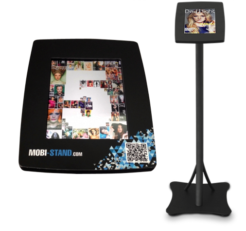 mobilna wersja magazynu Day&Night na kiosku multimedialnym (infokiosk) Mobi-Stand